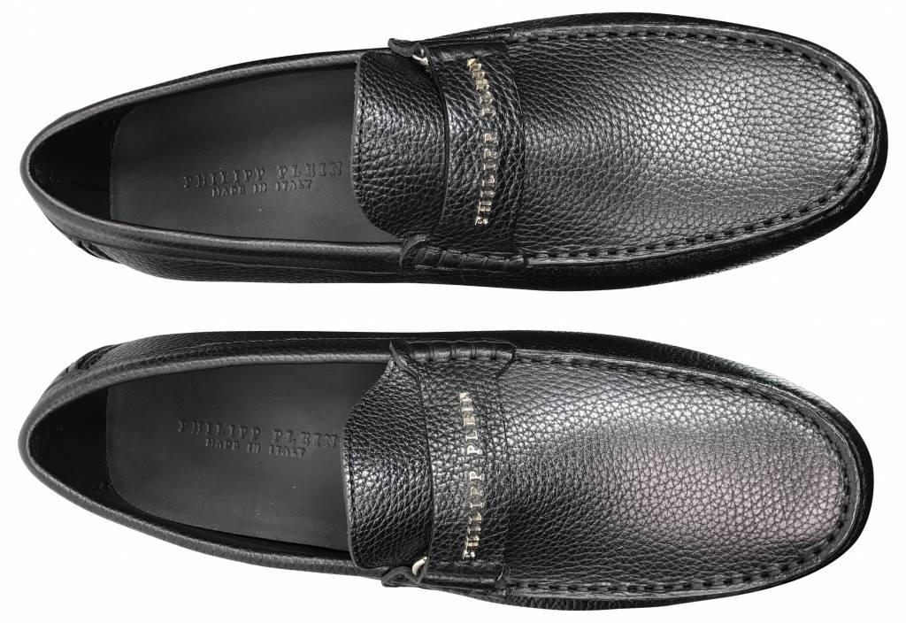 Philipp Plein Zwarte mocassin sneaker-F17S MSB0061 PLE006N-02K