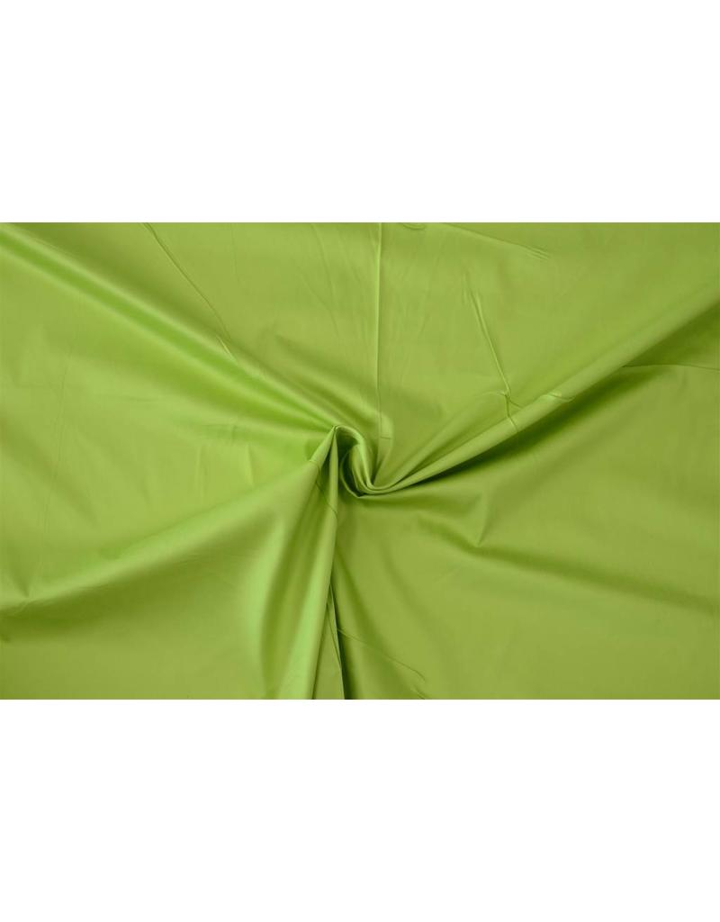 Satin Cotton Uni 0027 - lime green