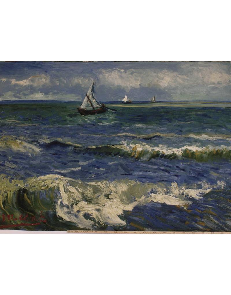 Jersey Inkjet 737 - Seascape at Les Saintes-Maries-de-la-Mer Vincent van Gogh, June 1888