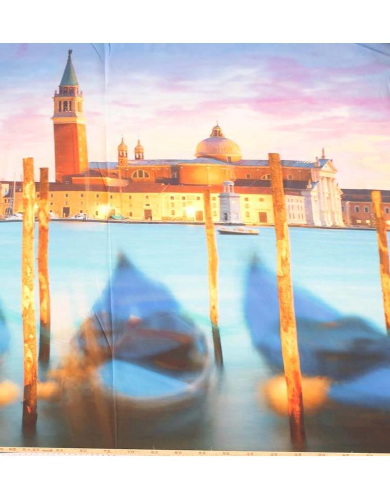 Baumwolle Inkjet 728 - Venedig