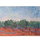 Glossy Cotton Inkjet 797 - Olijfgaard, Vincent van Gogh