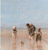 Glanz Baumwolle Inkjet 709 - children of the sea, Jozef Israëls