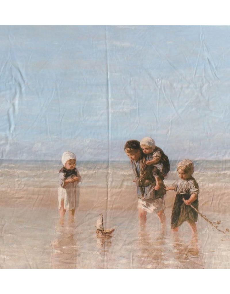 Brillant Coton Inkjet 709 - children of the sea, Jozef Israëls