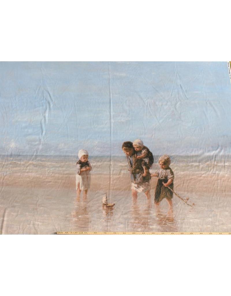Glossy Cotton Inkjet 709 - children of the sea, Jozef Israëls