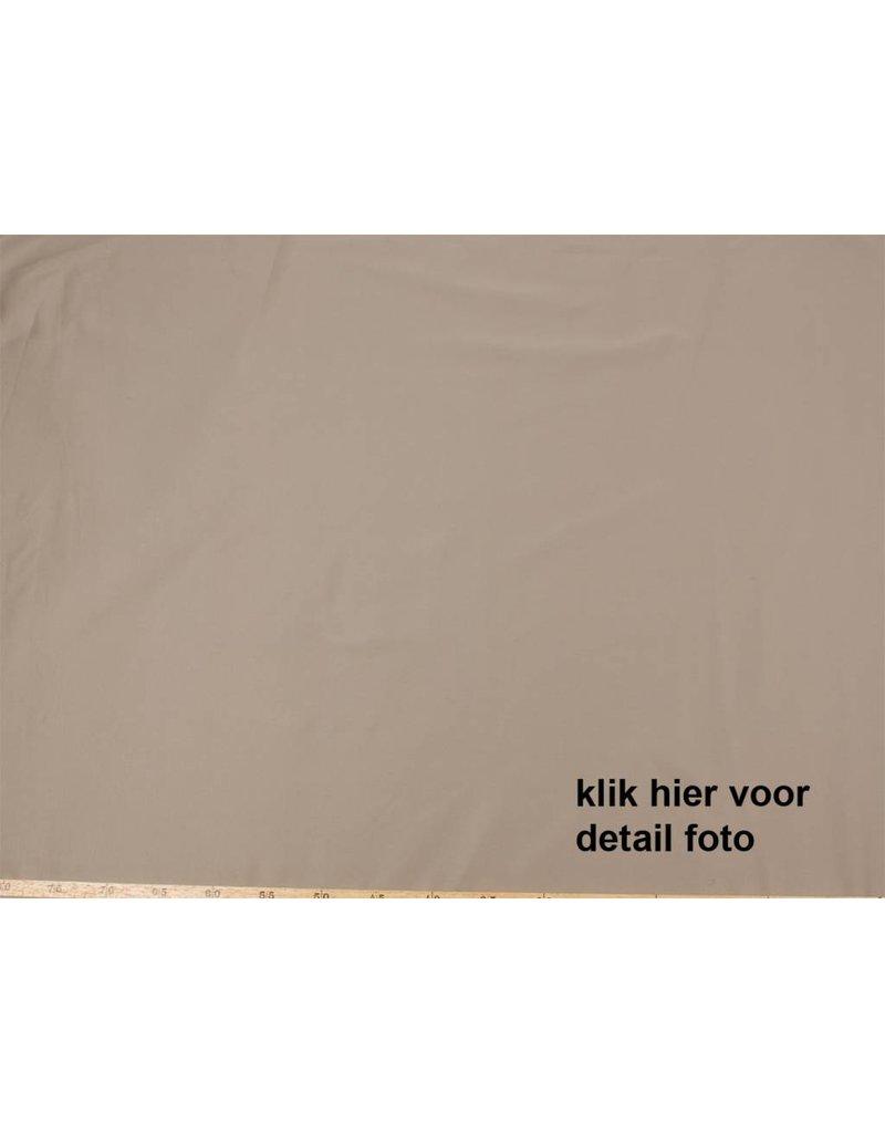 Satin Cotton Uni 0039 - light brown / gray