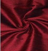 Dupion Silk D8 - dark red