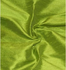 Dupion Silk D9 - lime green
