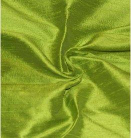 Dupion Zijde D9 - limoen groen