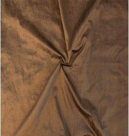 Dupion Silk D24 - sadle brown