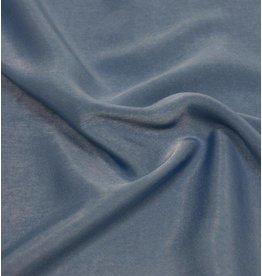 Imitatie Gewassen Zijde D005 - jeansblauw OP