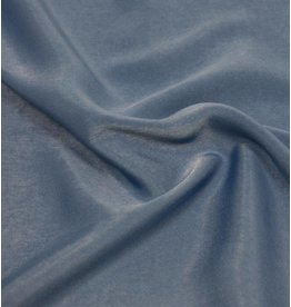 Washed Imitation Silk D005 - jeansblue