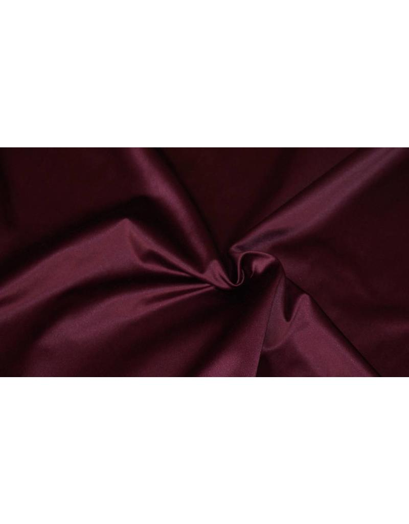Glossy Cotton Uni S12 - purple / burgundy