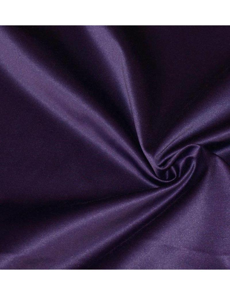 Glossy Cotton Uni S7 - dark purple