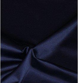 Glans Katoen Uni S6 - midnachtsblauw