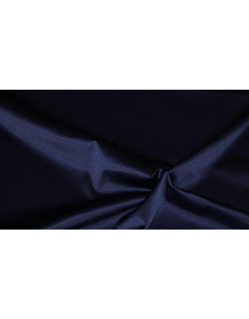 Glossy Cotton Uni S6 - midnight blue