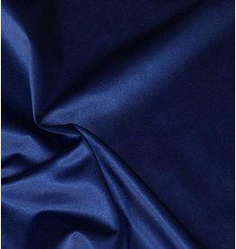 Glanz Baumwolle Uni S4 - kobaltblau