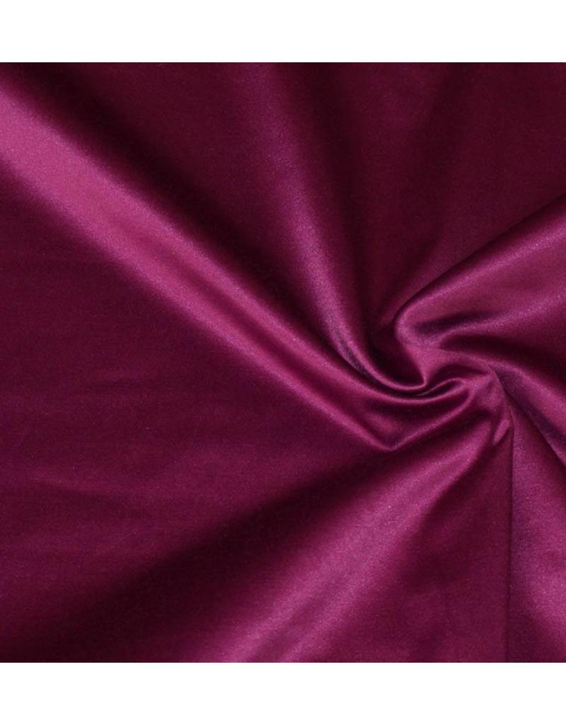 Glossy Cotton Uni S2 - dark fuchsia