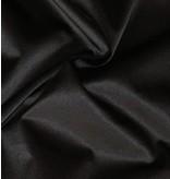 Glanz Baumwolle Uni S1 - schwarz