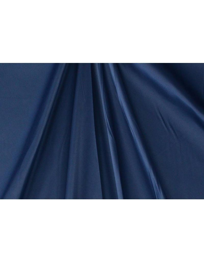 Glossy Cotton Uni S22 - bleu acier