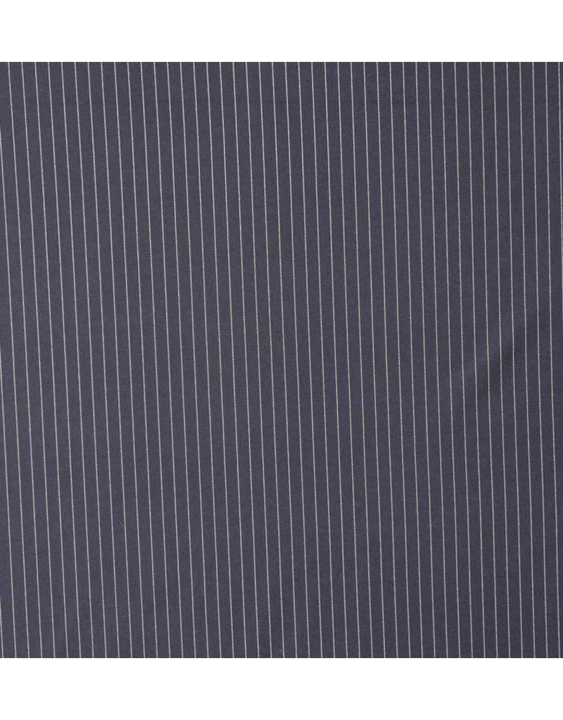 Terlenka Krijtstreep 924 - donkerblauw