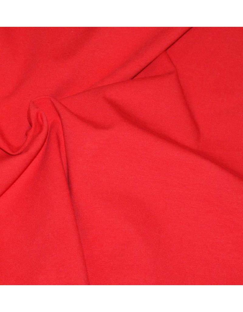 Katoen Jersey V7 - rood