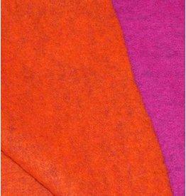 Double Face W1 - fuchsia / oranje