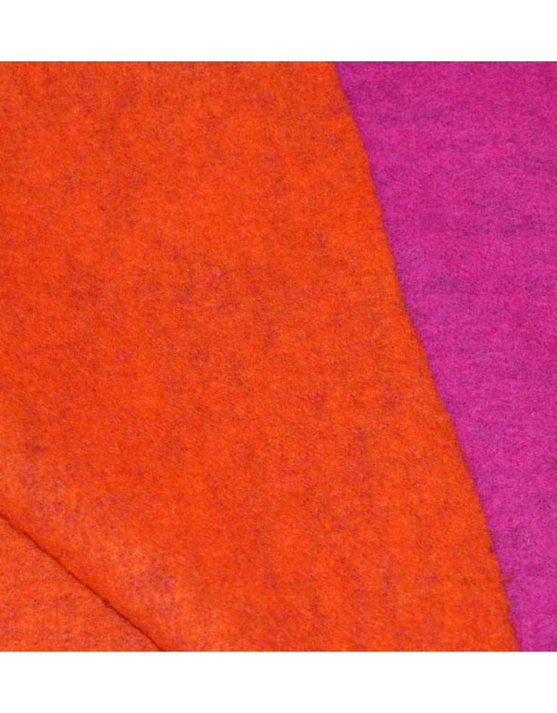 Double Face W1 - fuchsia / orange