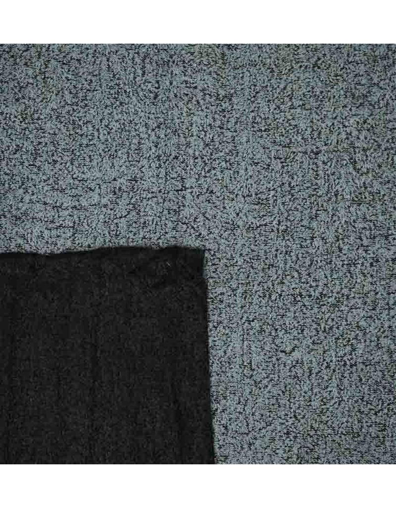 Double Face Bouclé BB16 - clair bleu / noir