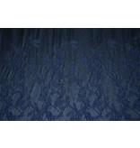 Jacquard 897 - dunkelblau / schwarz