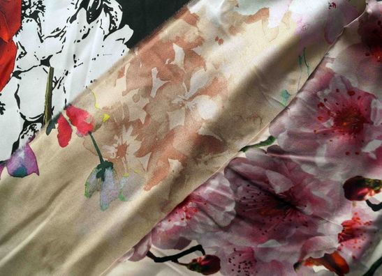 Silk Fabrics TST