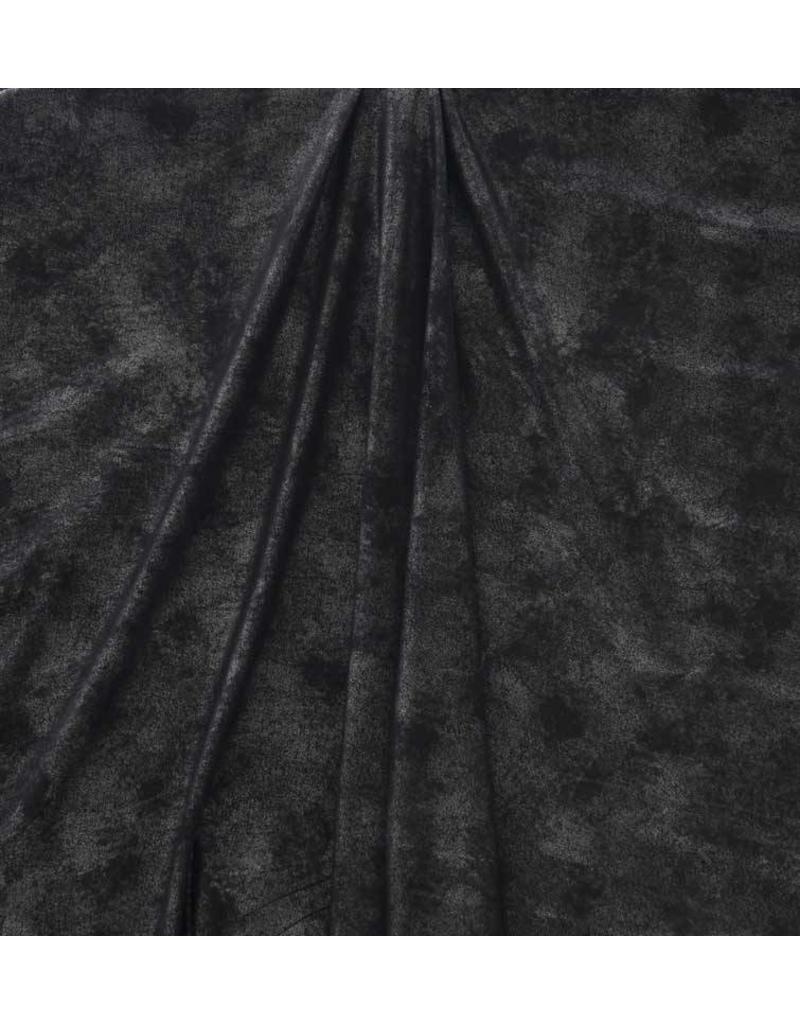 Imitatieleder Vintage IL18 - zwart metallic