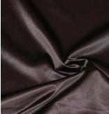 Glossy Cotton Uni S8 - brun chocolat