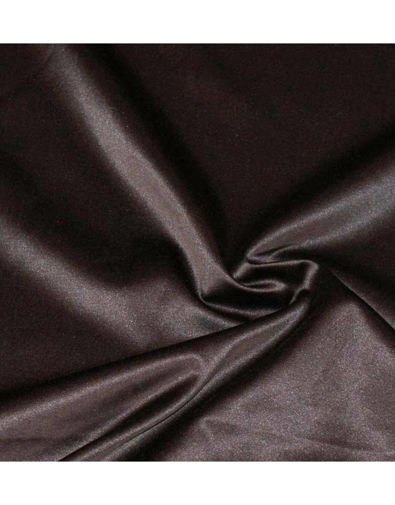 Glans Katoen Uni S8 - chocoladebruin