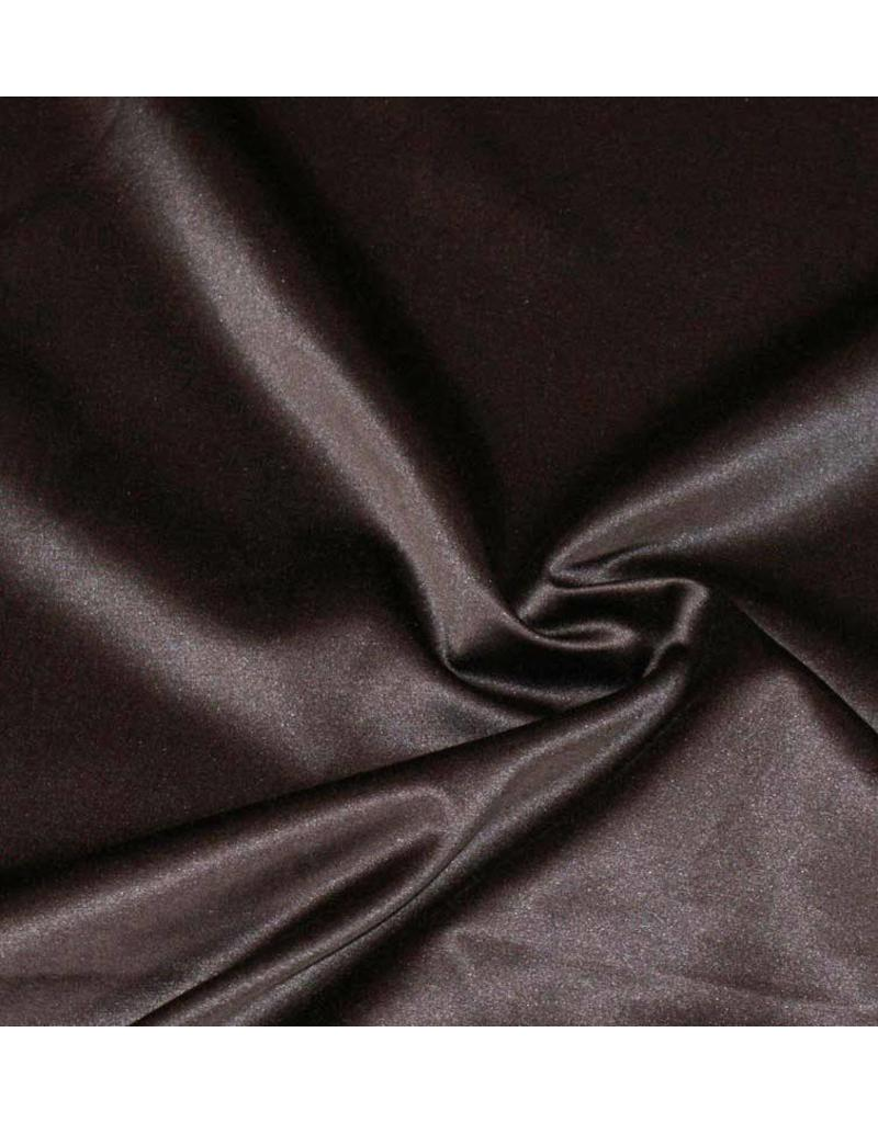 Glossy Cotton Uni S8 - chocolate brown