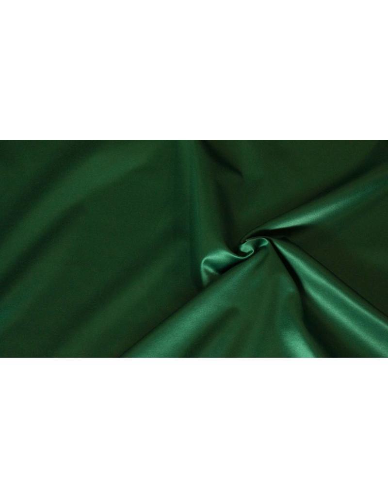 Glossy Cotton Uni S9 - Emerald green