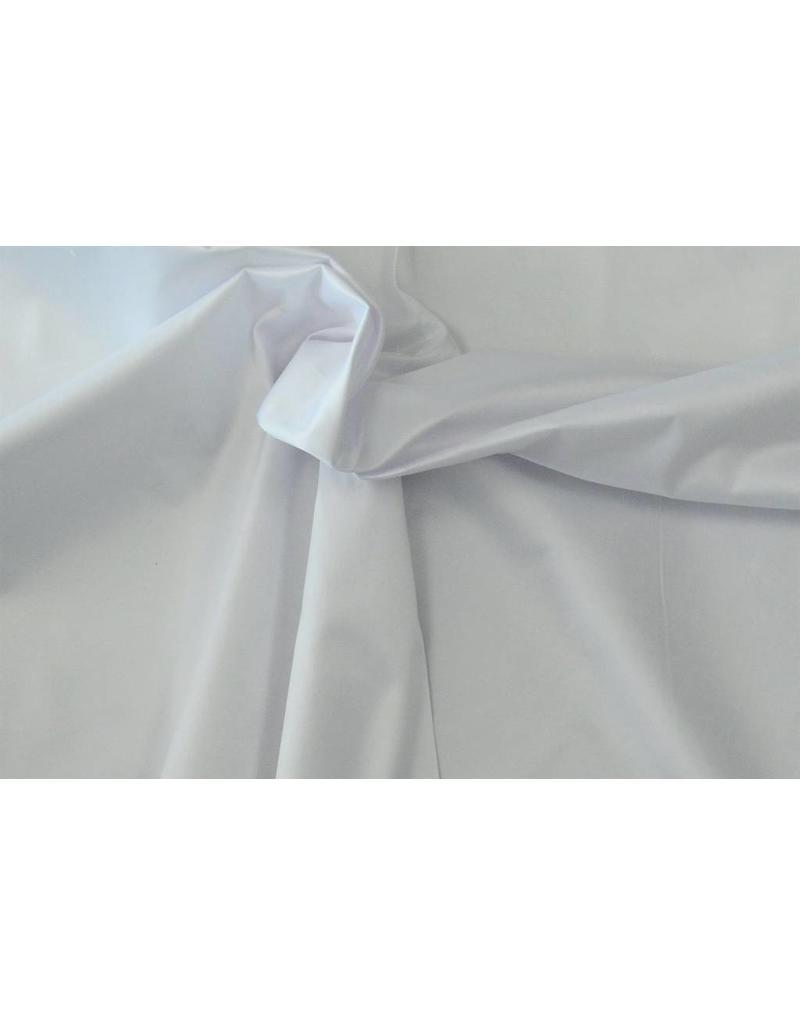 Glanz Baumwolle Uni S14 - weiß