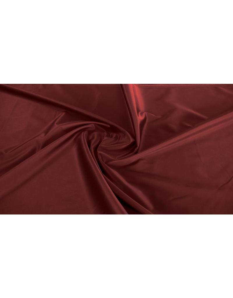 Glossy Cotton Uni S21 - rouge foncé
