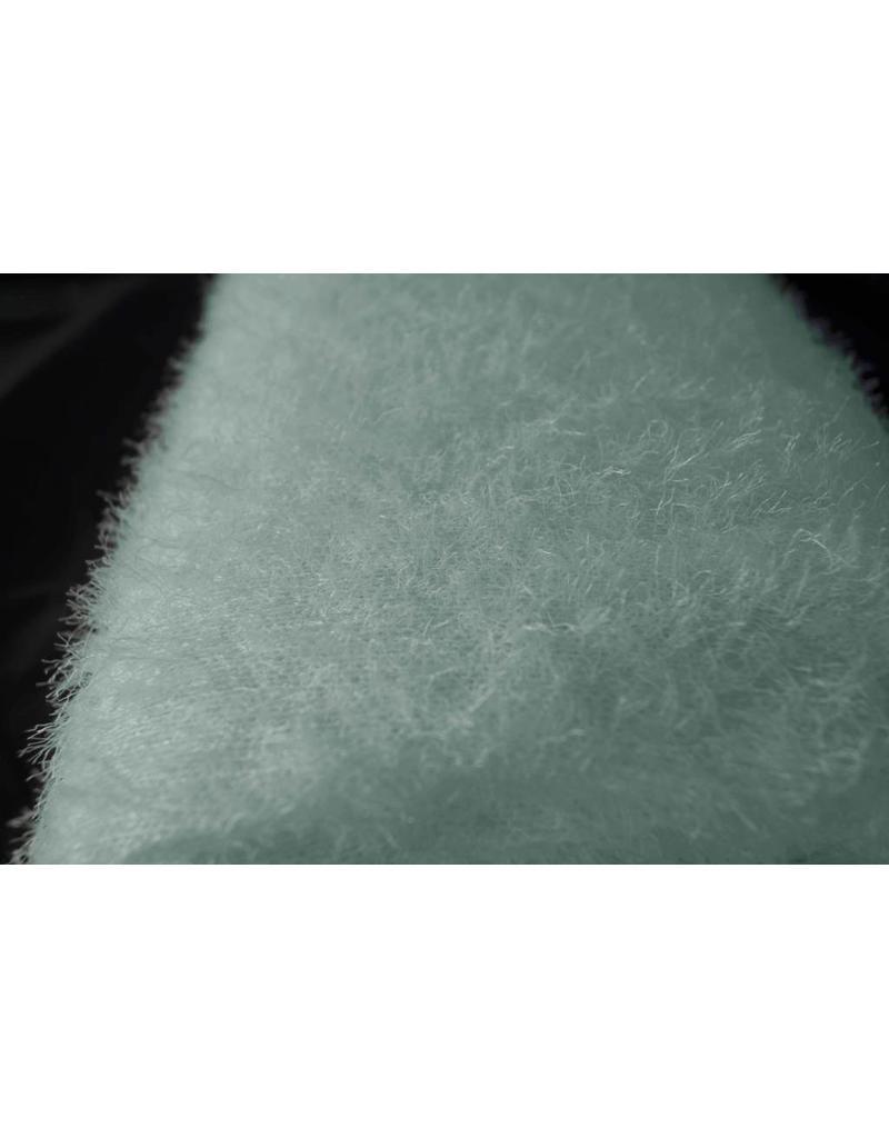 Fluffy Strick B11 - Pudergrün
