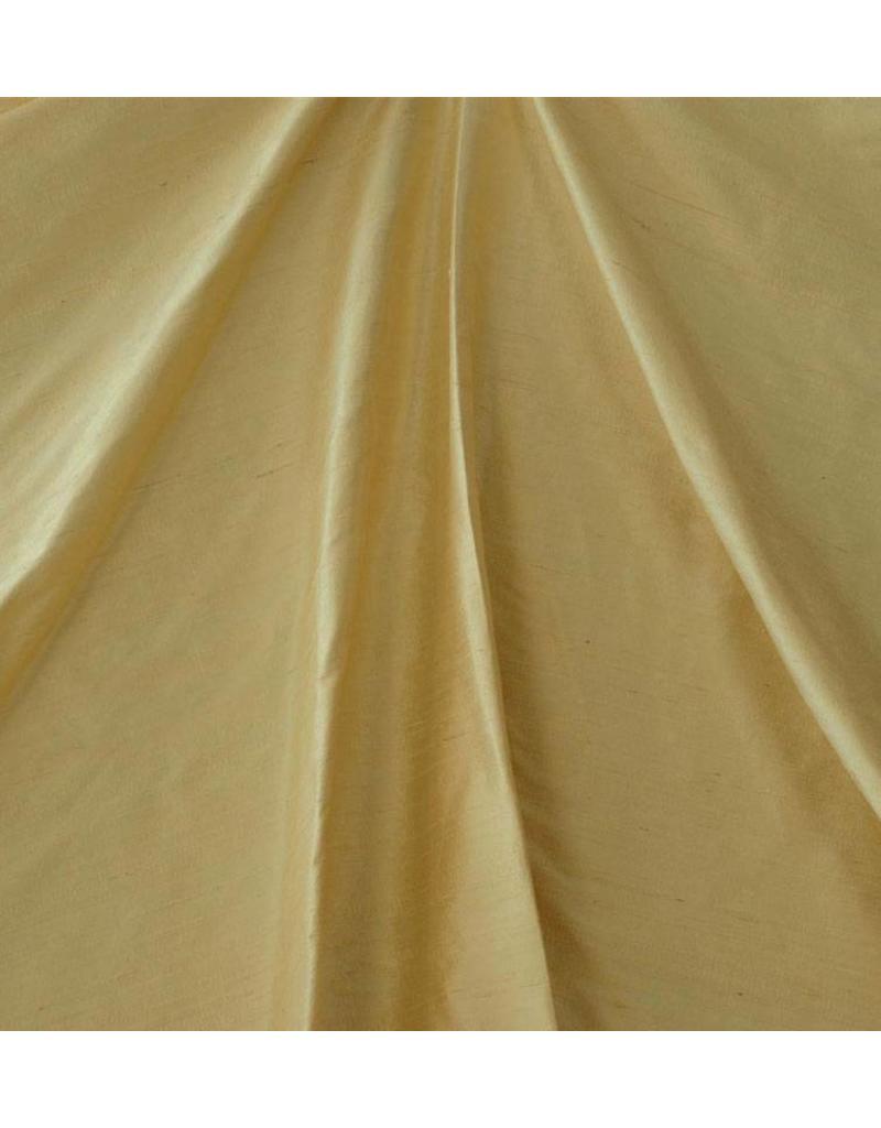 Soie de Dupion D31 - jaune doux