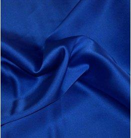 Soie avec Élasthane D14 - bleu de cobalt