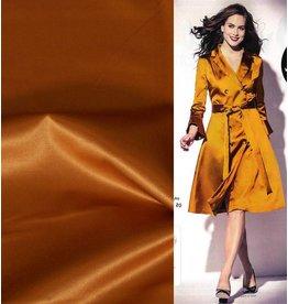 Glossy Cotton Uni S11 - gold / yellow