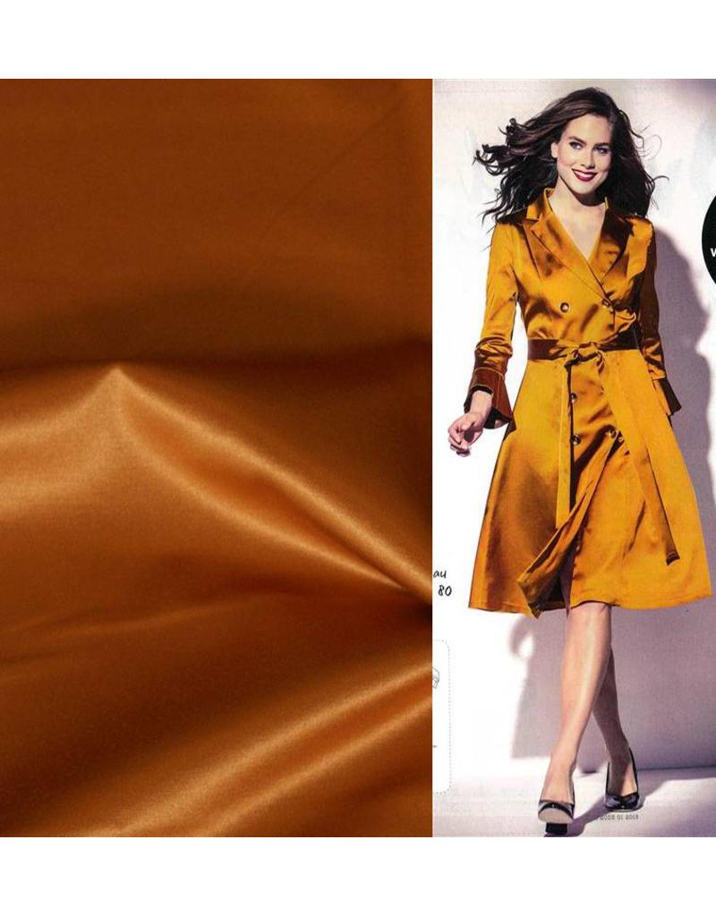 Glossy Cotton Uni S11 - or / jaune