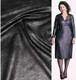 Imitation Leather Vintage IL18 - black metallic