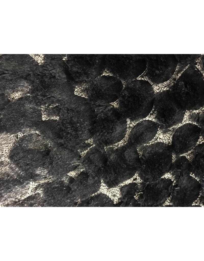 Pelz, bordure, W132 - schwarz