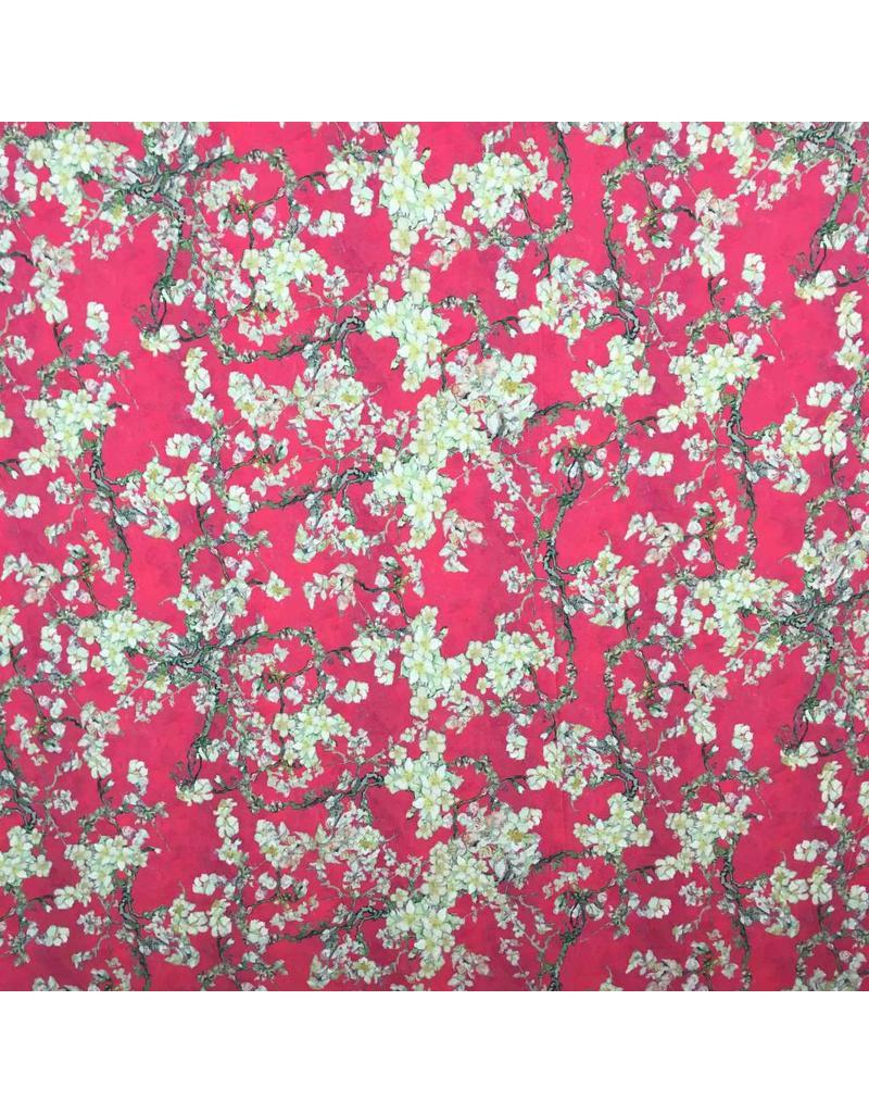 Jersey Inkjet 1112 - amand fleur imitation