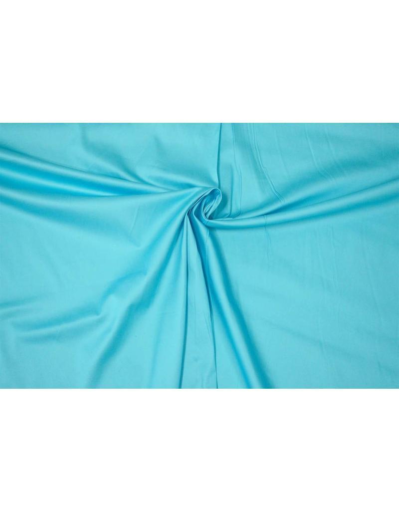 Satin Cotton Uni 0050 - light aqua blue