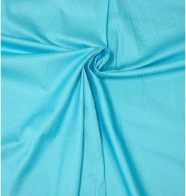 Katoen Satijn Uni 0050 - licht aqua blauw