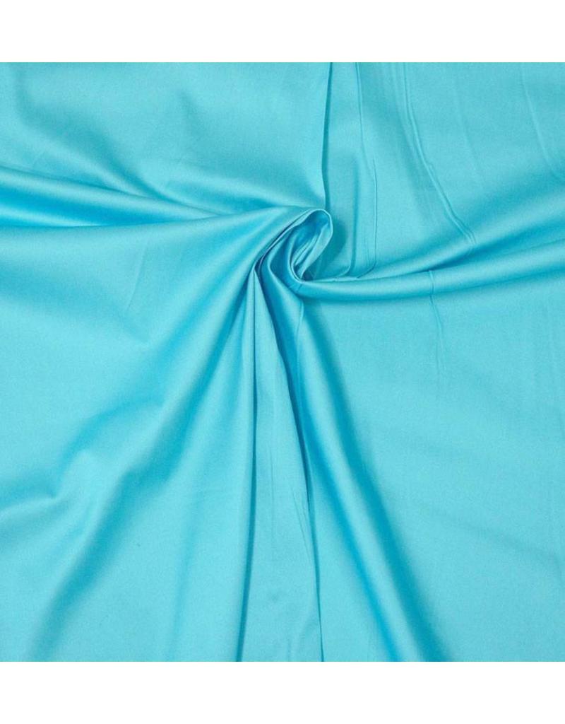 Baumwollsatin Uni 0050 - Licht aqua blau