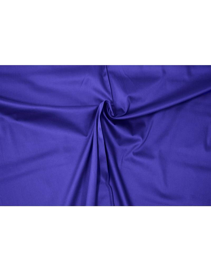 Satin Cotton Uni 0051 - cobalt