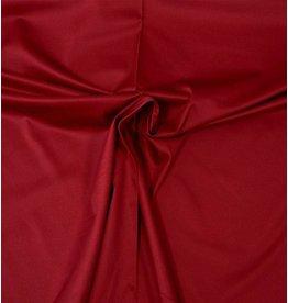 Satin de Coton Uni 0053 - rouge foncé